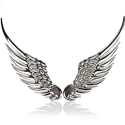 Auto Sticker 3D Wings Auto Styling Fashion Metal Stickers Auto Accessoires (1 paire)