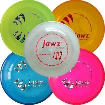 Hyperflite K10 Jawz Frisbee Resistente Morso per Cani Per Discdogging