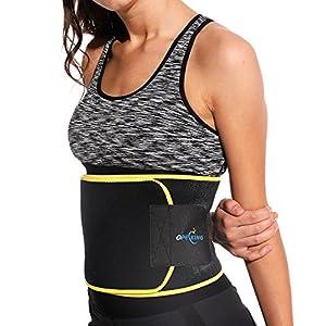 Fitnessgürtel – Damen & Herren – Hot Belt – Schwitzgürtel – Waist Trimmer | Schnell & Einfach Abnehmen mit dem Bauchweggürtel