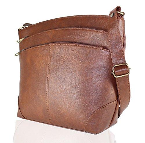 4a6f9d70b6ff Fargo Sun dry PU Leather Women s   Girl s Side Sling Shoulder Bag ...