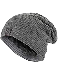 f6264f9564deb Amazon.co.uk  Grey - Skullies   Beanies   Hats   Caps  Clothing