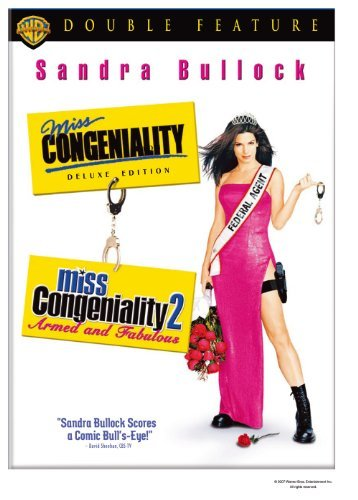 Miss Congeniality / Miss Congeniality 2: Armed and Fabulous (Double Feature) by Sandra Bullock
