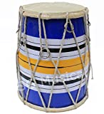 SG Musical Wooden Rope Tuned Kids Dholak/Dholki SGM-08