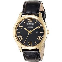 Guess W0792G4 - Reloj de Lujo para Hombre, Color Negro