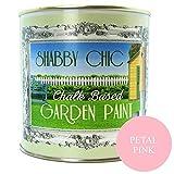 Vernice da giardino a base di gesso, finitura in stile shabby chic, 125 ml, colore: rosa