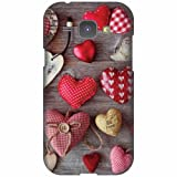 Printland Designer Back Cover For Samsung Galaxy J1 - Cushion Heart Cases Cover best price on Amazon @ Rs. 339