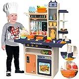 Kinderplay Kinderküche Spielküche Spielzeugküche Pink Spielzeug KP9294 Zubehörteile Neu Dampf ...