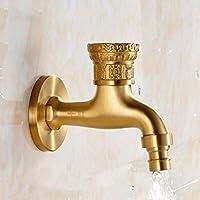 Lingyun Robinet- Robinet de piscine de lavande de machine de lavage froid seul européen de laiton de 4 points rétro ( taille : B )