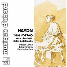Haydn: Trios Nos 43-45 (Hob XV: 27-29) pour pianoforte, violon & violoncelle /Cohen * Hobarth * Coin by Unknown (2005-10-11)