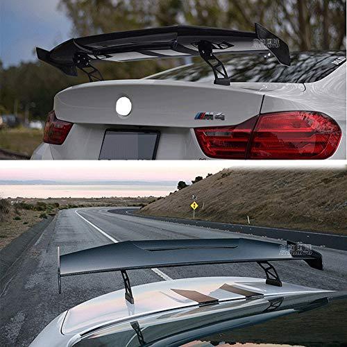 Universal GT Wing Spoiler Leichter Aluminium Heckspoiler Wing Verstellbarer Angel Zweireihiger Racing Heckspoiler BGW Drift JDM Drift Carbon Universal Sedan Spoiler