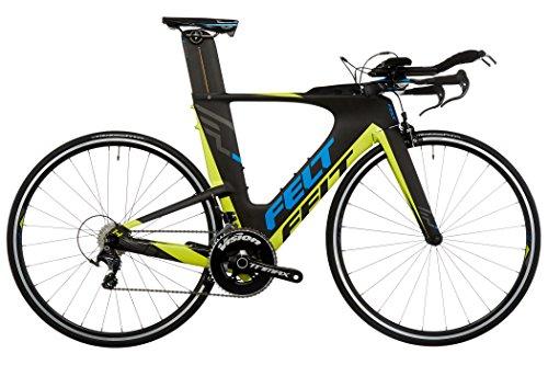 感觉IA14  - 铁人三项自行车 - 黄色/黑色镜框尺寸51 cm 2017