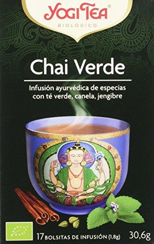 Yogi tea verde chai - 17 bustine filtro [30.6 gr]