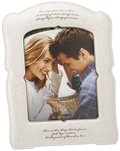 Lenox Opal Innocence Love is Patient Frame by Lenox Lenox Opal Frame