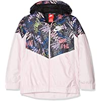 Comparador de precios Nike Sportswear Windrunner Chaqueta, Niñas, Multicolor (Arctic Pink/White), XS - precios baratos