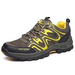 RDJM en Plein air Unisexe Couples Chaussures Chaussures de Marche Confortable Respirant Chaussures de randonnée Portables Mountaineer Chaussures été, c, 44