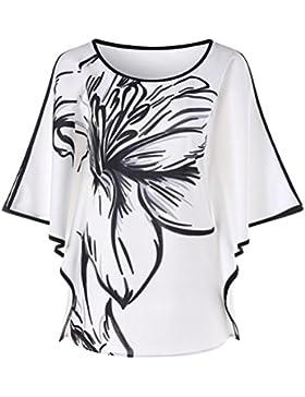 FAMILIZO_Camisetas Mujer Verano Blusa Mujer Elegante Camisetas Mujer Manga Corta Algodón Camiseta Mujer Camisetas...