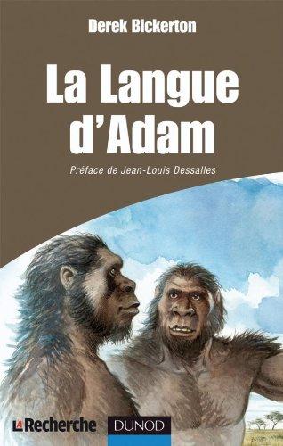 La langue d'Adam par Derek Bickerton