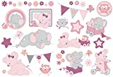 Nattou 424325 Wandkleber sticker, Adèle & Valentine