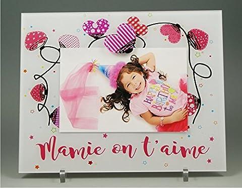 Cadre Photo Aimant pour Mamie – (Cadeaux originaux pour Papi
