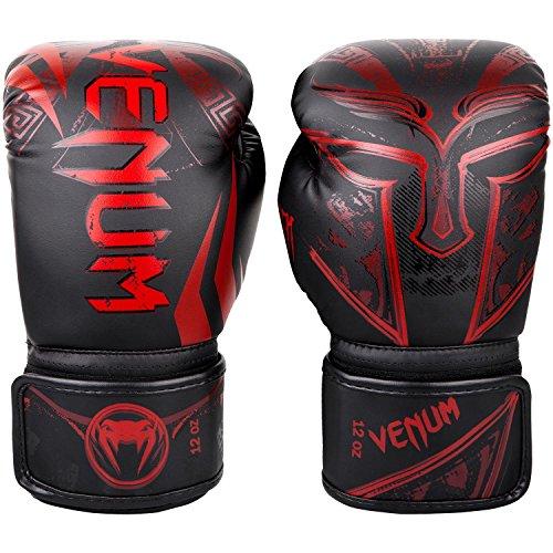 "Venum Boxhandschuhe Gladiator 3.0"" - Black/Red - Coole Boxhandschuhe für Boxen MMA Kickboxen Sparring Muay Thaiboxen Training (10oz)"
