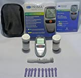 PRIMA Home Test - Misuratore di Colesterolo Totale e Trigliceridi + 5 Strisce Colesterolo + 5 Strisce Trigliceridi