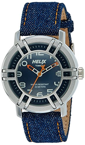 Helix Drifter Water Resistant Analog Blue Dial Men's Watch - 05HG00