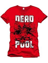 Marvel Deadpool Jump-Camiseta Hombre