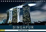 Singapur bei Nacht und Tag (Tischkalender 2019 DIN A5 quer): Erleben sie eine Bildreise durch Singapur. (Monatskalender, 14 Seiten ) (CALVENDO Orte) -