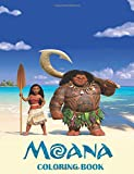 #10: Moana Coloring Book: Coloring Book for Kids and Adults - 25+ Illustrations: Volume 24 (Coloring Books for Adults and Kids 2-4 4-8 8-12+)
