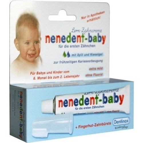 NENEDENT Baby Zahnpflege Set 20 ml Zahnpasta