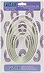 Ausstecher Oval 6-teilig 16,5, 14,0, 12,5, 10,5, 9,0, 7,0 cm Kunststoff