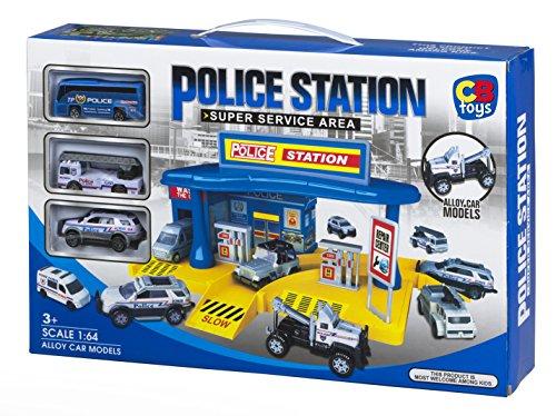 ColorBaby Comisaria de policía y vehículos