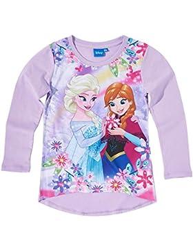 Disney El reino del hielo Chicas Camiseta mangas largas - malva