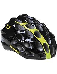 Catlike Whisper Casco de Ciclismo, Unisex Adulto, Negro/Amarillo (Fluor),