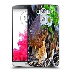 Snoogg Little Mushroom Designer Protective Phone Back Case Cover For LG G3