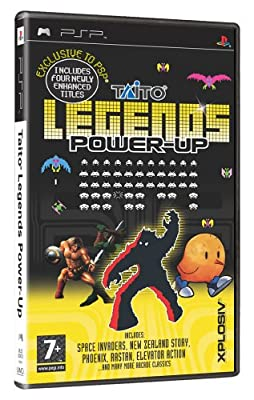 Taito Legends Power-Up (PSP) by Empire