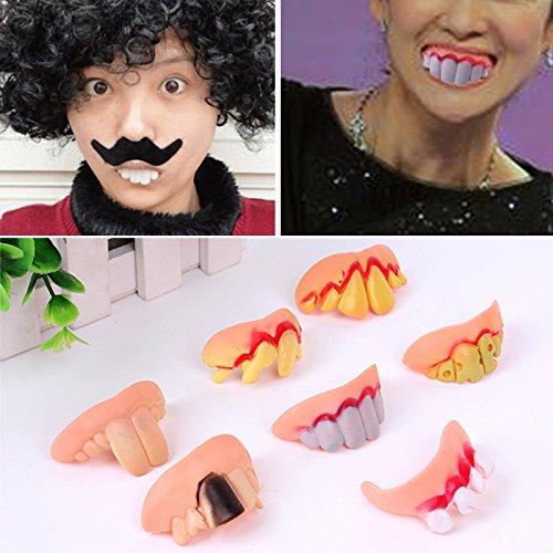 Gefälschte Zähne, 1 X Falsche Zähne Cover Spielzeug -