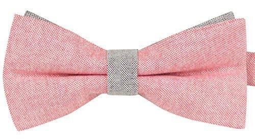 Panegy Nœud Papillon Cravate lavallière Homme Femme Pastel Soirée Businesse Mariage Cérémonie Déco Fête Costume Bow Tie en Coton mélange élégant pour