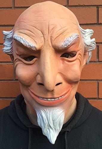 Onkel Sam Latex Maske Halloween Kostüm American Patriot USA Maskottchen By Coopers (Kostüme Sam Onkel Erwachsene Erwachsenen)
