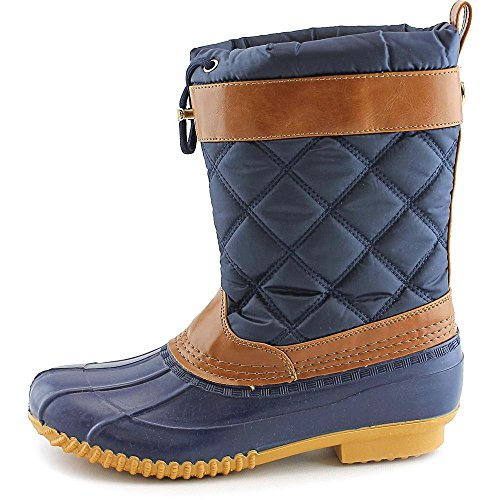 Isaac Mizrahi Sleet Toile Botte de Neige Blue Multi