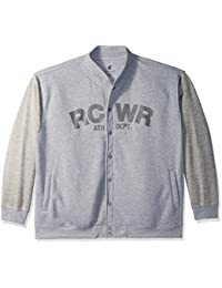 Rocawear Men's Big and Tall Mr Sosa Marl Fleece Jacket