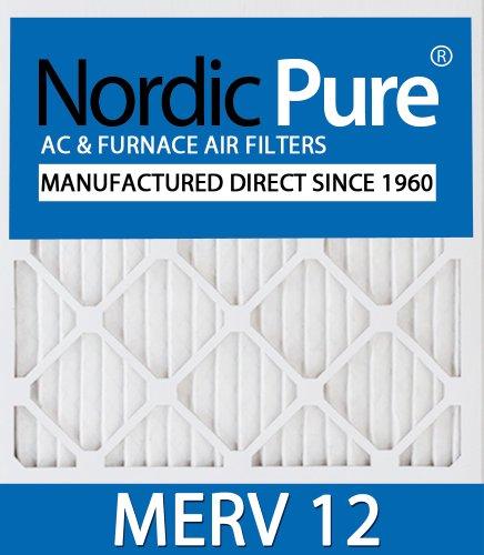 Nordic Pure 13x 24x 1exactcustomm12–6Merv 12AC Ofen Filter, 6Stück Klimaanlage Filter 24x24