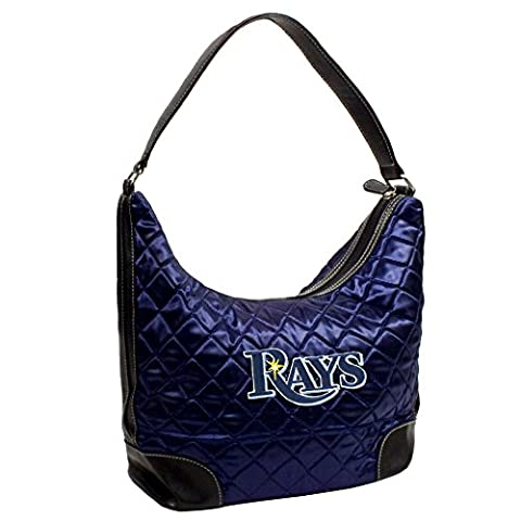MLB Tampa Bay Rays Team Color Quilted Hobo