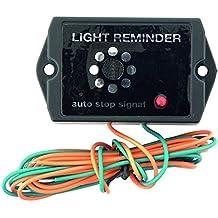 CARPOINT Avisador de luces encendidas 6-12V 3,8x3,5x2,7cm