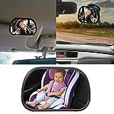 Leegoal (TM) Baby Auto Spiegel für hinten gerichtete Autositze, Premium mit perfekte Reflection, bruchsicher