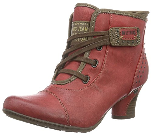 Mustang 1156-601, Bottes Classiques Femme Rouge (5 rot)