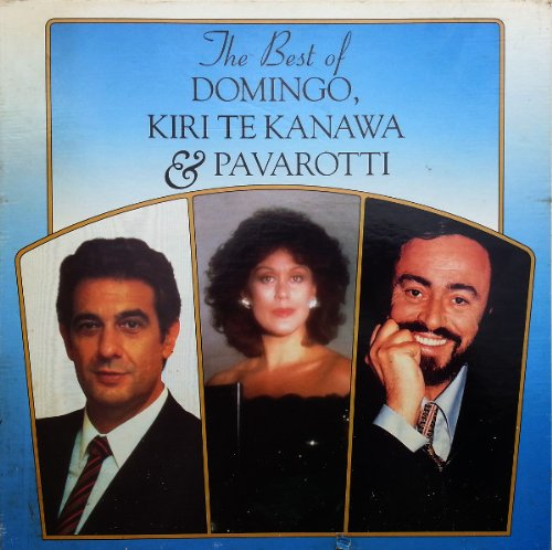 Best Of 8 Lp Box Set - Domingo Kiri Te Kanawa And Pavaroti LP
