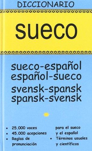 Dº Sueco     SUE-ESP / ESP-SUE (DICCIONARIOS) por Aa.Vv.