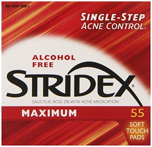 stridex-triple-action-acne-pads-55-count