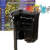 Biologisher Außenfilter Evolution AF02-190 190 l/h, Anhängefilter Hang-on filter